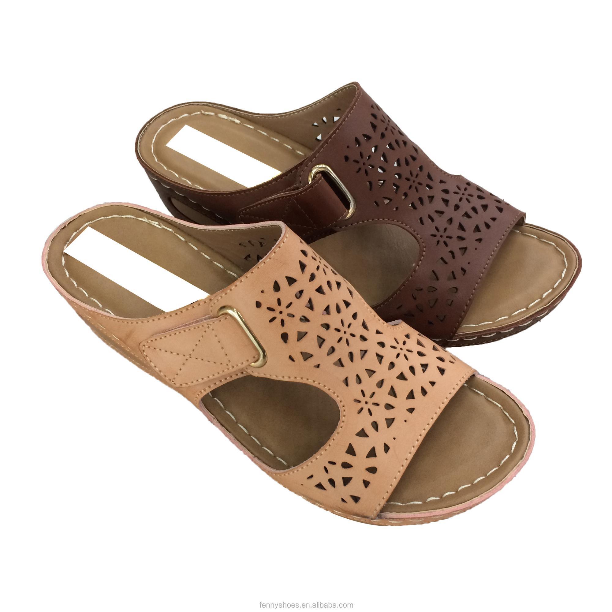 wedge women p shayla wfk black leather sandal comforter sandals comfortiva comfort