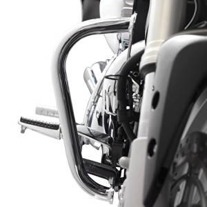 Suzuki 990A0-73001 Chrome Engine Guard Set