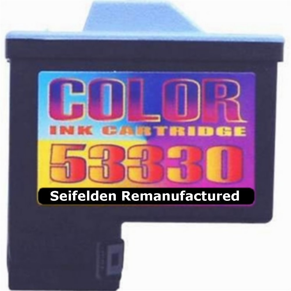 Seifelden Remanufactured Ink Cartridge Replacement For Primera 53330 Color Ink Cartridge for Bravo, Bravo II, Bravo XR, Bravo XRn, Bravo XRn Blu, OptiVault, Autoprinter