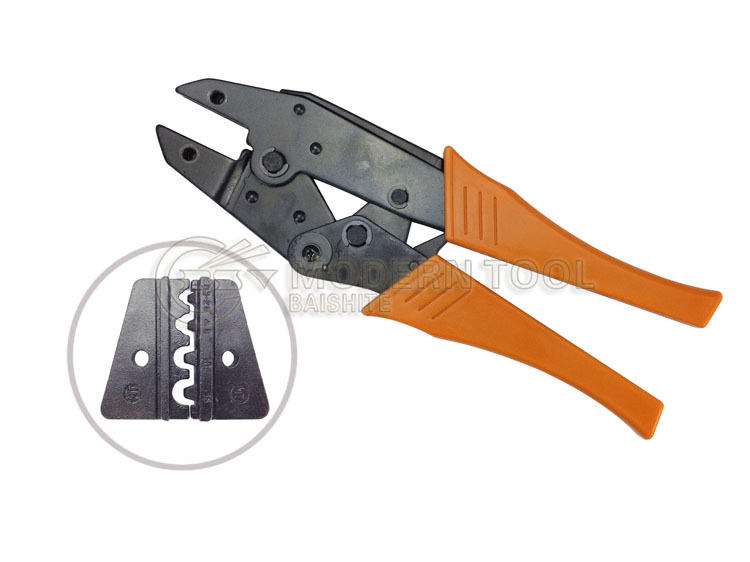 HS-1016 Ratchet Crimping Plier For Non-insulated Terminals Lugs