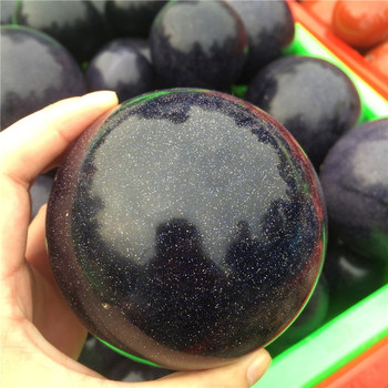 Wholesale blue sandstone balls crystal stone sphere