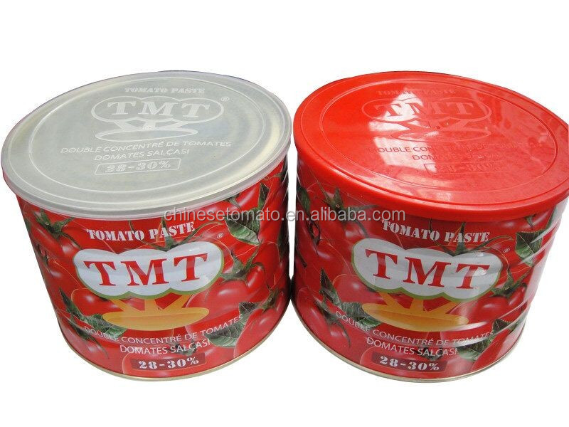2200g Cheap Concentrated Gino Tomato Paste For Nigeria