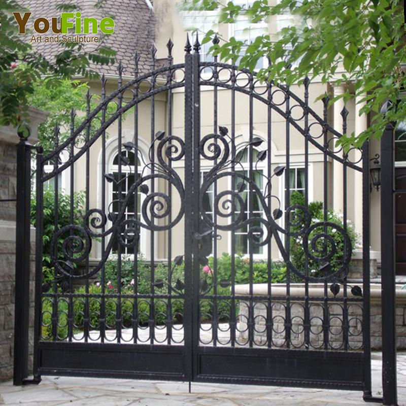 New Design Cast Iron Main Gate For