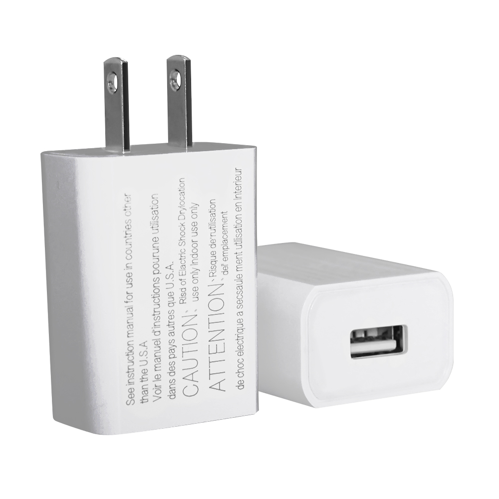 High quality US type 5v 2A Usb Power Adapter 1 port , Usb Wall Charger For Mobile Phones With UL certificate