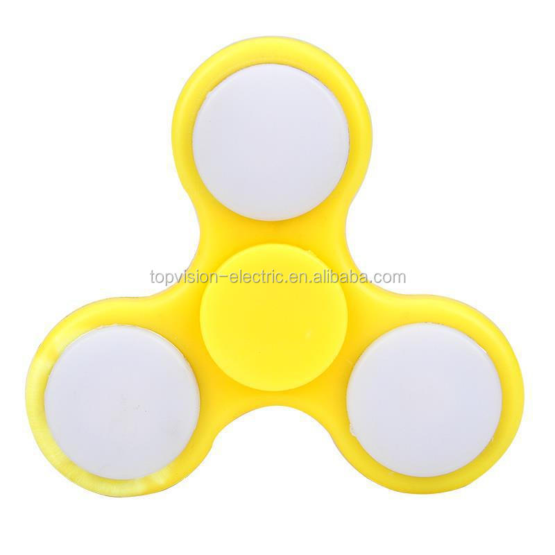 Hot selling Led hand spinner toy gift fidge spinner