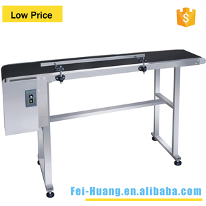 Top-grade Powered Rubber Table stainless steel Conveyor Belt