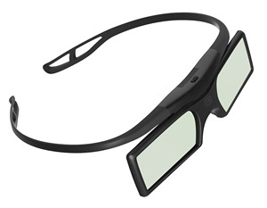 New cheap! Button battery DLP 3D Glasses for DLP-Link Projectors of Optoma, Acer, BenQ