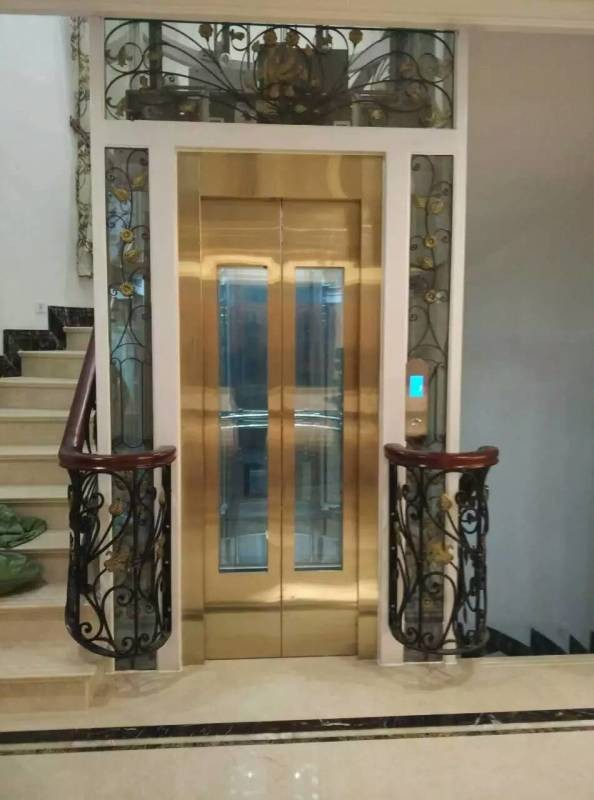 Home elevator villa elevator small home lift buy indoor for Indoor elevator