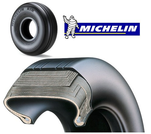 Aircraft Michelin Tire 008-413-2