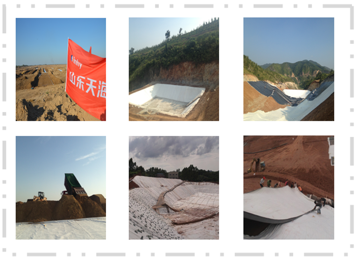 Municipal Engineering Polyester Nonwoven Geotextile with Competitive Price