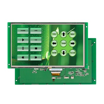 "LCD 10.1"" color touch module with CPU, 10 inch lcd"