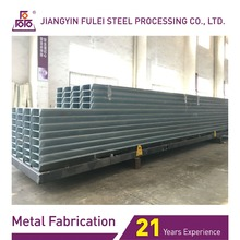 Hot Dip Galvanized Electrical Steel Poles For Electrical Industry