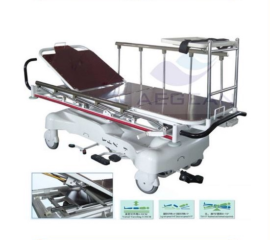 AG-HS005 leather cover surface radiolucent patient hospital stretcher prices