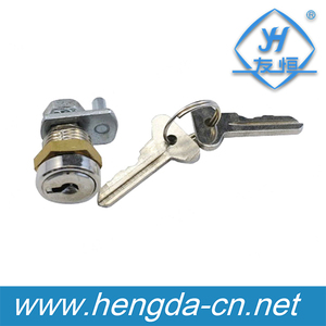 YH2743 Top Quality Zinc Alloy Die-cast Housing And Cylinder Hardware Fitting Plastic Or Metal Cabinet Small Disc Cam Lock