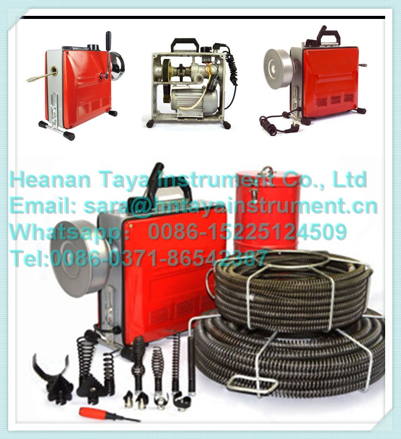 Electric Drain Cleaner Sewer Snake Pipe Drain Cleaning