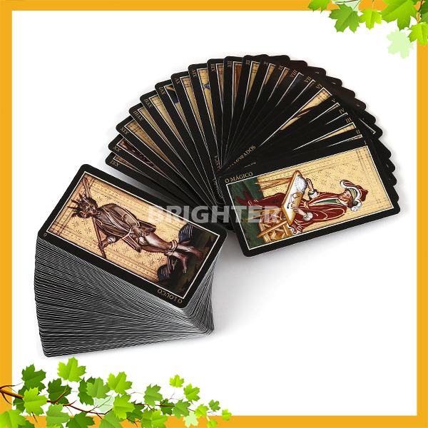 PC013 Wholesale Deck Shrink Package Printing Tarot Cards