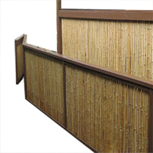 Fd-16422 Bamboo Fencing Bamboo Slat Outdoor Bamboo Screen Fence - Buy  Bamboo Fence,Bamboo Divider,Flat Bamboo Fencing Product on Alibaba com