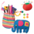 ALEX Toys Craft My First Crafting Animal  Sewing Kit for Kids Educational Toy