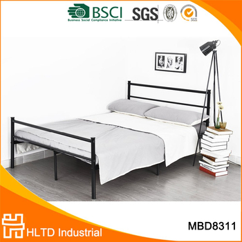 Cheap Hotel Kd Black Metal Bed Frames For Sale - Buy Metal Bed ...