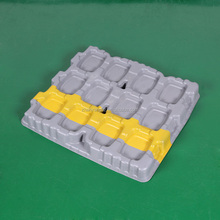 Custom HDPE Thick Plastic Pallet for Auto Parts and Heave Machine Parts