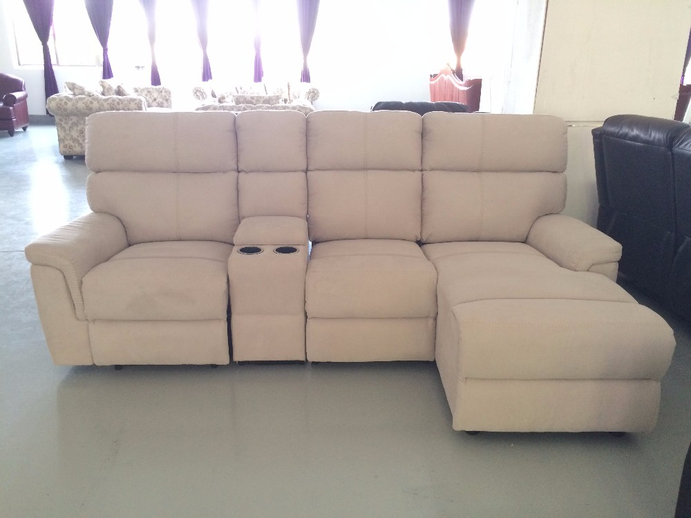Modern Furniture Fabric Recliner Loveseat Lounge Removable