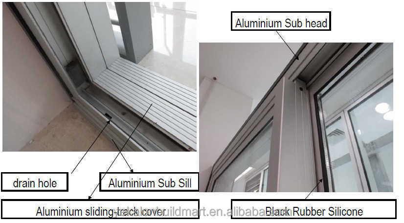 Australia Standard System Aluminum Sliding Door Amp Window With Clear Tempered Glass Buy