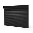 Latest modern electric aluminum german roller shutters interior security shutter hurricane impact window factory