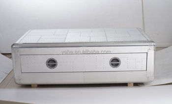 Richards Trunk Table,aluminum Coffee Table