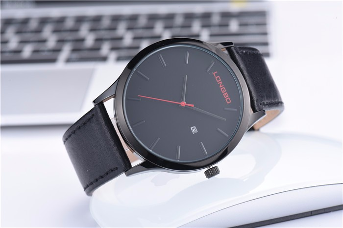 Popular designed fast production time promotional watches custom logo