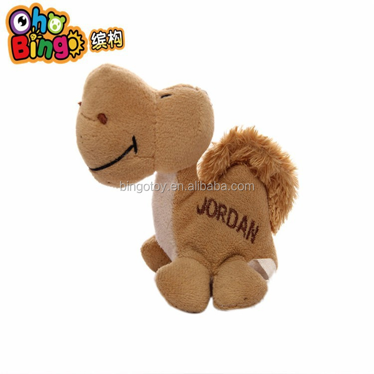 Plush Camel Souvenir Fridge Magnet Animal Shaped Magnet Fridge