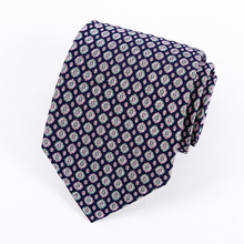 100% Handmade Silk Print Form Customize Tie