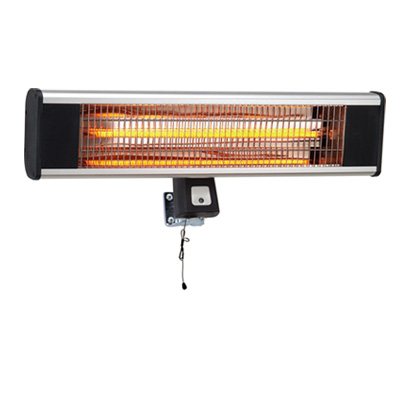 Carbon fiber radiant electric wall mount infrared heater patio <strong>heating</strong> 1800W
