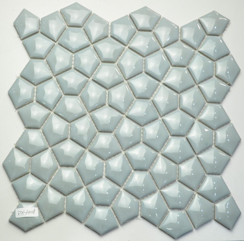 irregular shape black ceramic mosaic tiles wall ceramic tile