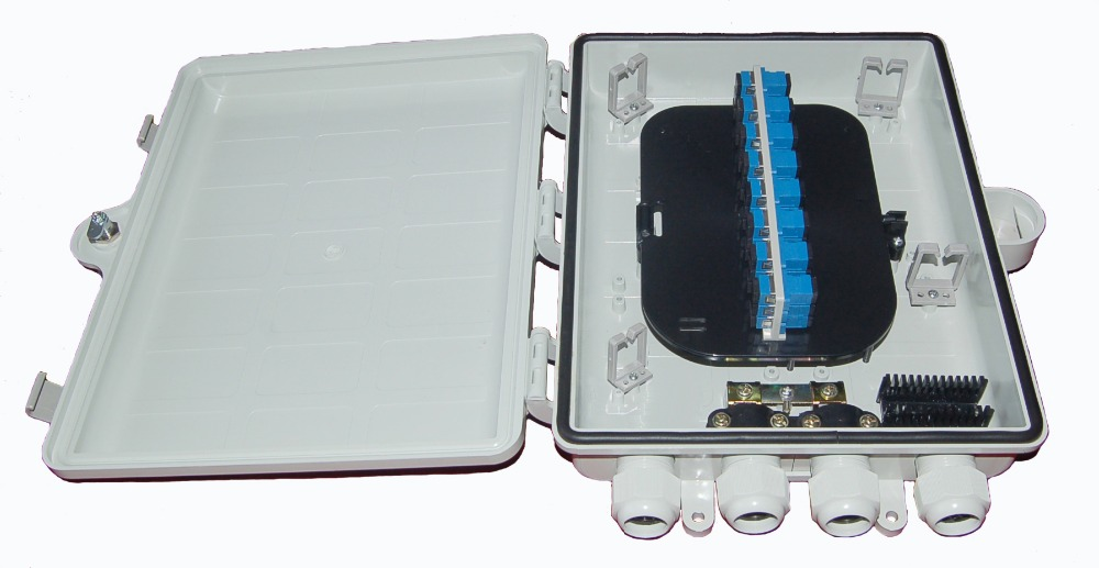 Fiber Optic Distribution Box Ip68 Outdoor Cable Plastic