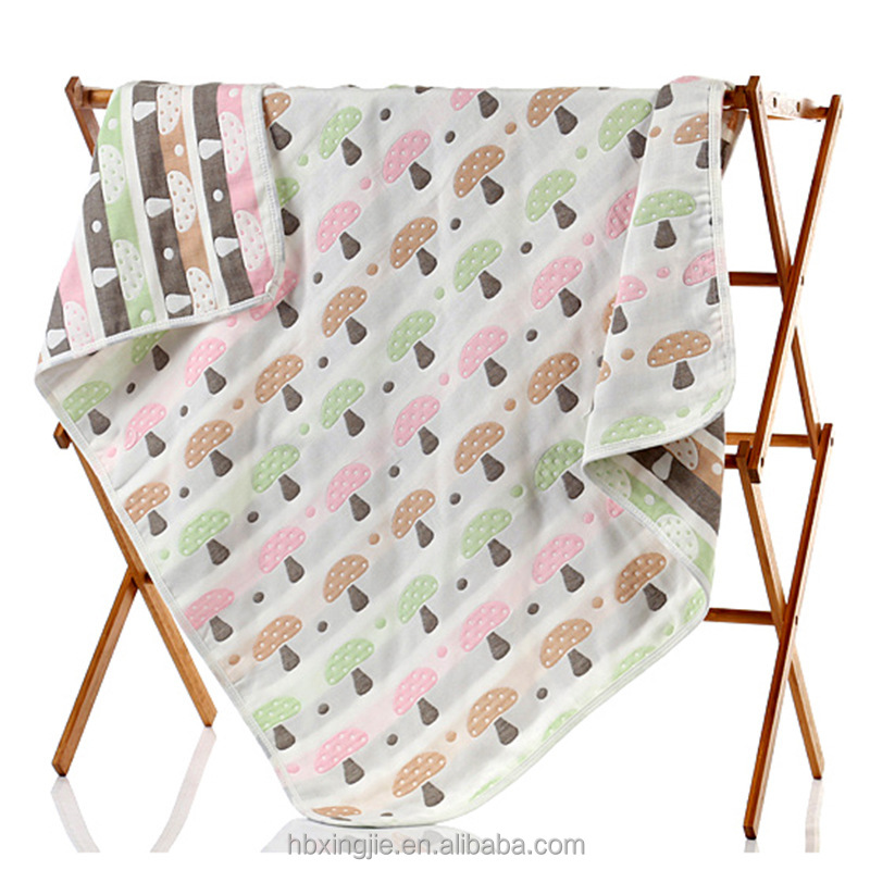 Hot sales cotton baby muslin swaddle blanket baby muslin wrap blanket gauze organic cotton muslin blanket
