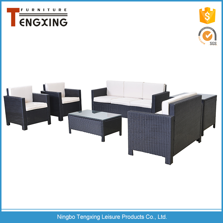 Hot sell fashion luxury durable big lots wicker outdoor garden furniture