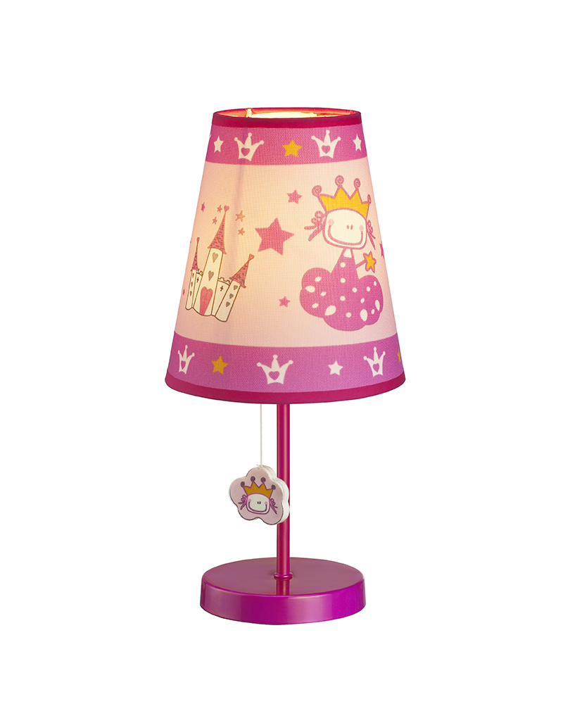 Kids Lamps Princess & Castle Theme Table Lamp Children