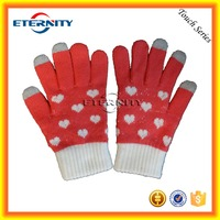 China supplier ladies gloves smart phone glove for touch screen