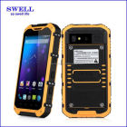 barcode scanner Quad core MTK6589 android 4.2 4 inch China 3G WCDMA tough rugged smart phone with NFC and walkie talkie