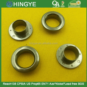 18mm round shape zinc alloy metal eyelet and washer for clothes -- MZ5222