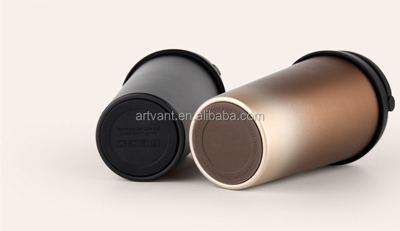 New 500mL Vacuum Insulated Travel Coffee Mug Stainless Steel Mug Tumbler Sweat Free Tea Cup Thermos Vacuum Flask Water Bottle