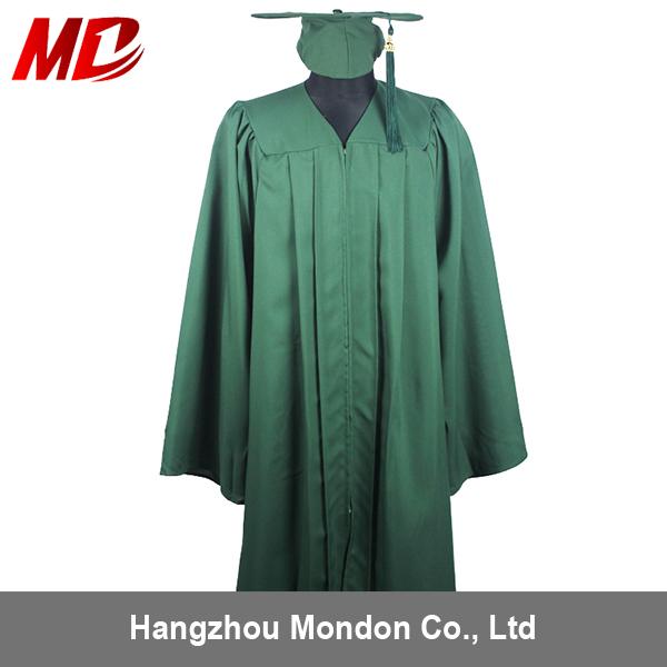 Us Matte Forest Green High School Graduation Cap Gown & Tassel - Buy ...