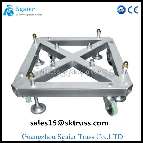 Steel Base Plate-moving light truss /Steel Base For Truss