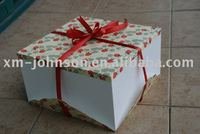 paper cakes packing box birthday cake box for sale