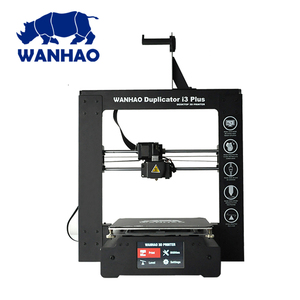 2018 Upgrade I3 PLUS 2.0 WANHAO WANHAO I3 PLUS 3D printer dropshipping with touching LCD, china 3d printer 3D Printer KIT