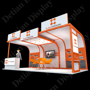 Shanghai customized fabrication exhibition booth stall design