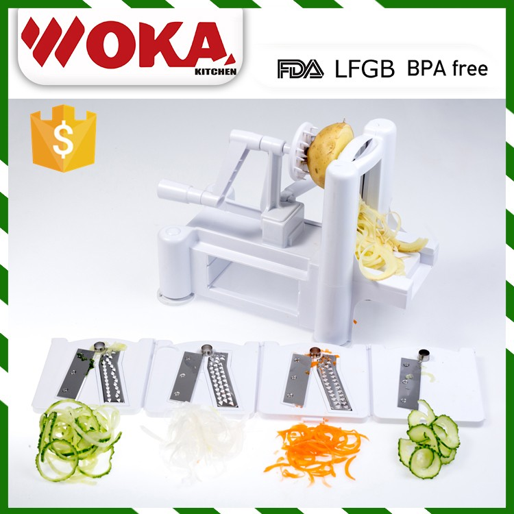 Free sample spiralveggetti spiral vegetable slicer makes