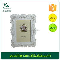 Wholesale Free Shipping Picture White Resin Photo Frames