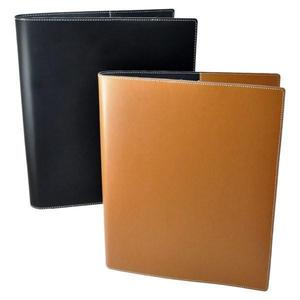 Letter Size Faux Leather 3 Ring Binder for Holding Documents