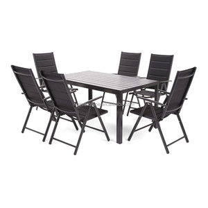 Promotional Rattan/ Wicker Furniture 4 Seats Outdoor Dining Set